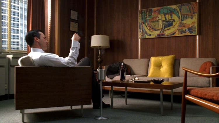 Mad Men Decor the mid-century atmosphere of mad men | culture design