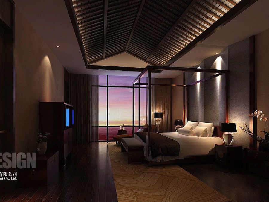 modern asian bedroom interior design in china and slightly more culture design 12434