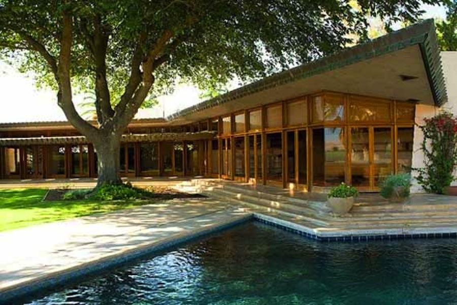 Frank lloyd wright the fawcett house culture design - Frank lloyd wright style ...