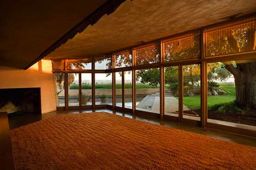 Frank lloyd wright the fawcett house culture design - Frank lloyd wright designs ...