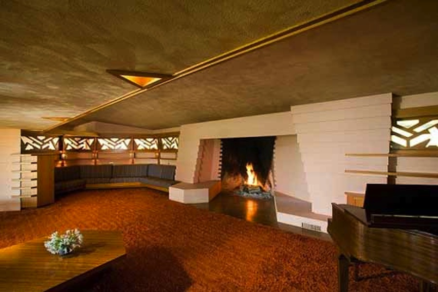 Frank lloyd wright the fawcett house culture design for Interior design wikipedia